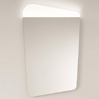 BurgBad Badu Зеркало 59х95.5х2.5см с lED подсветкой, каркас аллюминий, цвет: корица