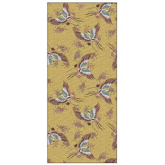 Ornamenta Operae Керамическая плитка 120х278см, настенная, декор: Birds Yellow