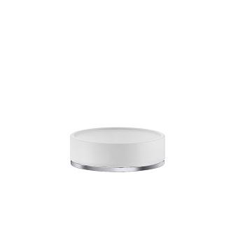 Gessi Inciso Мыльница настольная, цвет: белый/finox