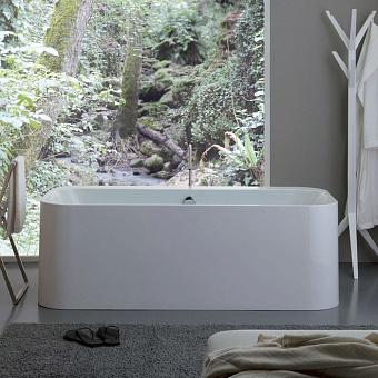 KERASAN Tribeca Ванна отдельностоящая акриловая  170х80х58см в комплекте со сливом Clic-clac, цвет белый