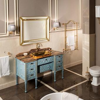 Gaia Impero Комплект мебели 131x66x80 см, голубой / золото