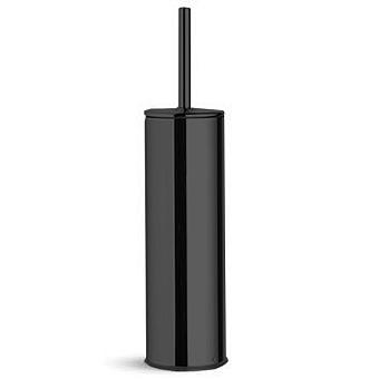 Bertocci Cinquecento Ерш напольный в металлической колбе, цвет: черный матовый