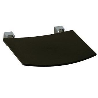 Keuco Plan Сидение, цвет темно-серый, подвесной монтаж, крепеж хром