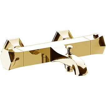 CISAL Cherie Смеситель термостатический настенный для ванны/душа, цвет золото