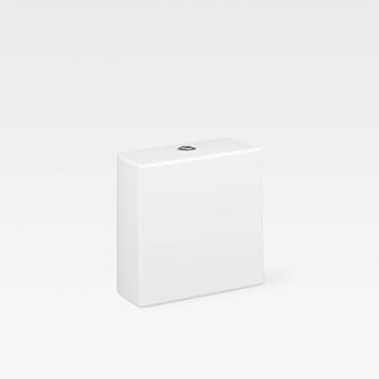 Armani Roca Baia Бачок для унитаза 38х17х38см с 2-м механизмом смыва, с нижним подводом воды, цвет: off-white