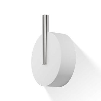 Decor Walther Stone WHG Крючок, цвет: белый / сталь матовая